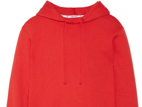 Ribbed knit-trimmed cotton-jersey hooded top HK$1,445 (OPENING CEREMONY)