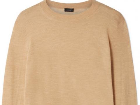 Cashmere sweater HK$2,030 (JOSEPH)