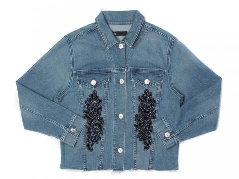 3x1 刺繡牛仔外套 HK$7,580