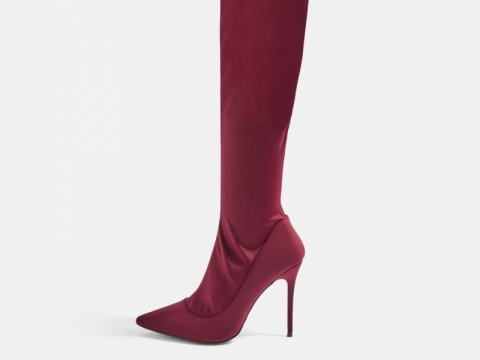 BELLINI Over The Knee Sock Boots HK$361 (TOPSHOP)