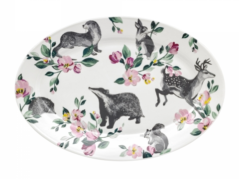 Badgers and Friends Serving Plate HK$490