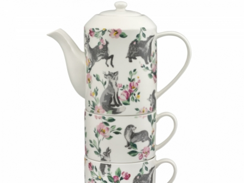 Badgers and Friends Tea for Two HK$520