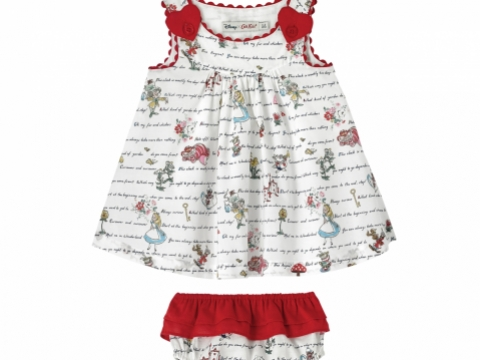 Alice' s Words Mini Eleanor Hearts Dress HK$390