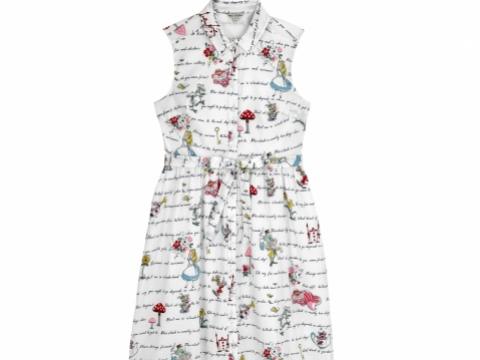 Alice' s Words Shirt Dress HK$1,190