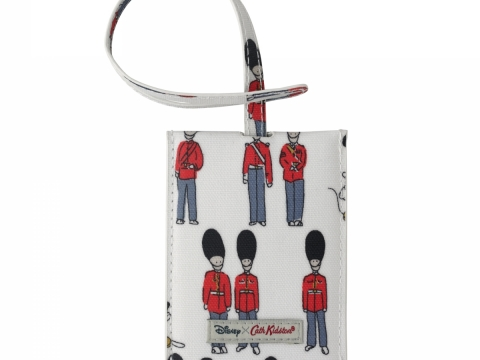 Mickey and Guards Ivory Luggage Tag HK$150