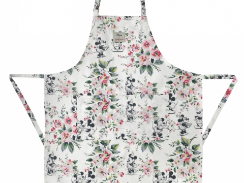 Mickey & Minnie Bouquet Ivory Aprons HK$390