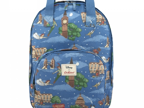 Peter Pan in London Mid Blue Pocket Backpack HK$750