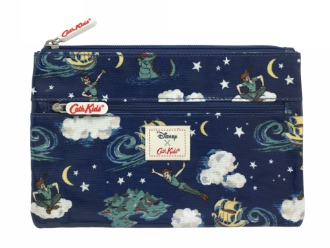 Peter Pan Mini Clouds Soft Navy Pencil Case HK$150