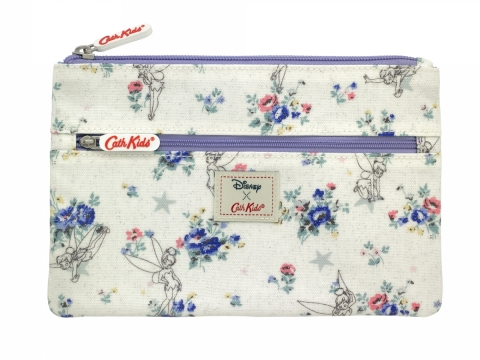 Tinker Bell Posy Off White Pencil Case HK$150