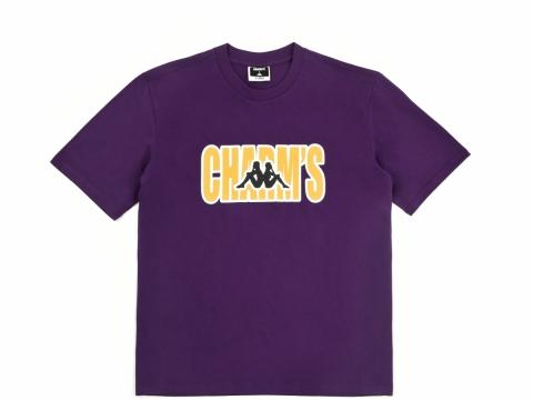 CHARM'S X KAPPA 紫色logo tee 售價待定