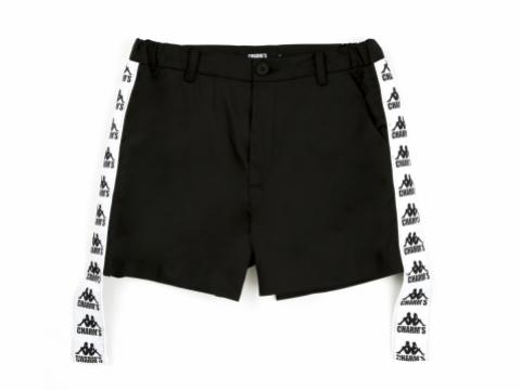 CHARM'S X KAPPA 黑色運動短褲 HK$1,399