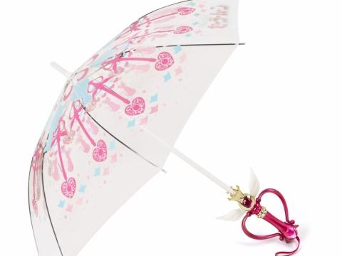 :CHOCOOLATE |Sailor Moon 月光萬花筒神杖透明長雨傘 (購物滿 HK$1,200即可免費獲贈)