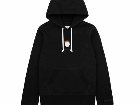 花輪同學黑色印花圖案衛衣 HK$399