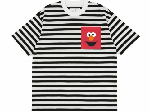 :CHOCOOLATE x SESAME STREET POCKET TEE HK$259