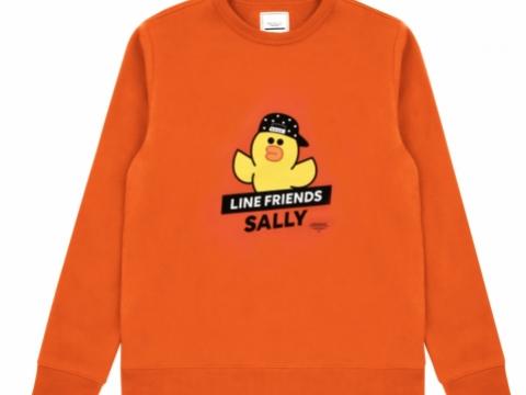 橙色印花圖案衛衣 HK$359