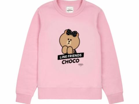 粉紅色印花圖案衛衣 HK$359