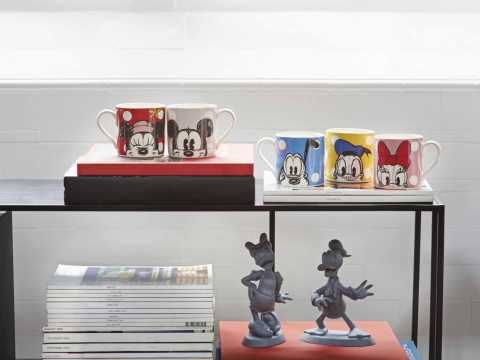 Mickey & Friends Placement  Mug HK$130