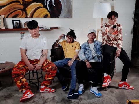 國際矚目的成都Hip-hop四人組合HIGHER BROTHERS海爾兄弟