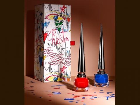 Loubitag Collection III︰Edgypopi橙紅色、Baraboum寶石藍色。HK$525/套
