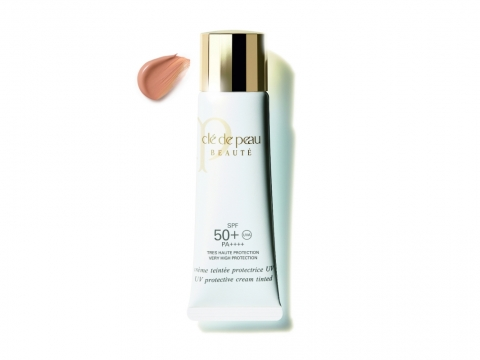cle de peau UV Protective Cream tinted SPF50+   HK$650/30ml