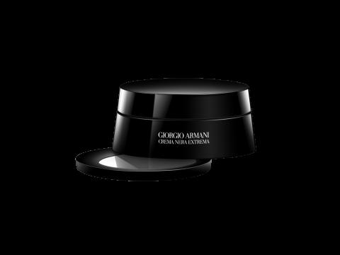 Giorgio Armani Crema Nera Light Reviving Eye Cream 接觸肌膚會隨溫熱化成輕盈潤澤的質感,配合眼部按摩有效消減浮腫和黑眼圈。HK$1,510/15ml