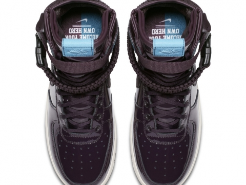 酒紅色Nike Air Force 1 Nocturne HK$1,099