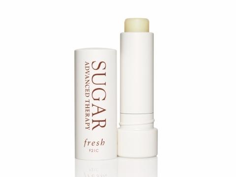 Fresh Sugar Lip Treatment Advanced Therapy含天然黃糖及植物油成分,有效修護乾燥唇部肌膚。HK$220