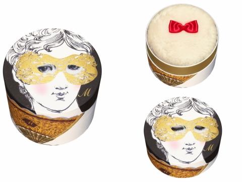 魅惑美肌珍珠蜜粉FACE & BODY PEARL POWDER的粉盒可以按角度改變表情。HK$500