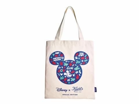 凡購買產品或節日禮品套裝滿HK$1,800,即可換取Kiehl's x Mickey Holiday Tote Bag。