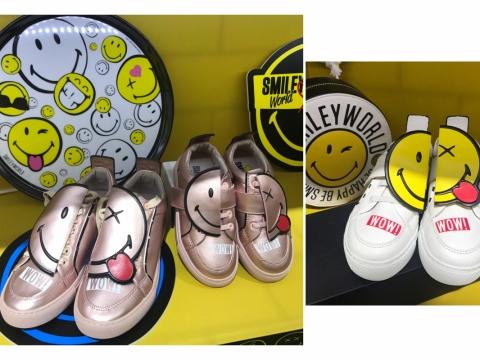 Smiley運動鞋(成人HK$1,395、童裝HK$590)
