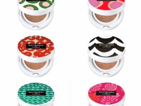 Marimekko for CLINIQUE Empty Cushion Compacts氣墊粉底粉盒 (共8款) 各HK$335(連粉芯)