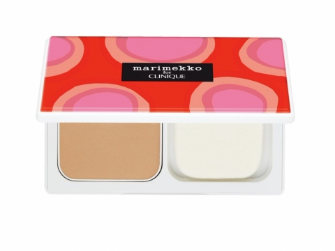 Marimekko for CLINIQUE Side by Side Empty Compact完美極緻遮瑕粉餅粉盒 HK$380 - $410(連粉芯)