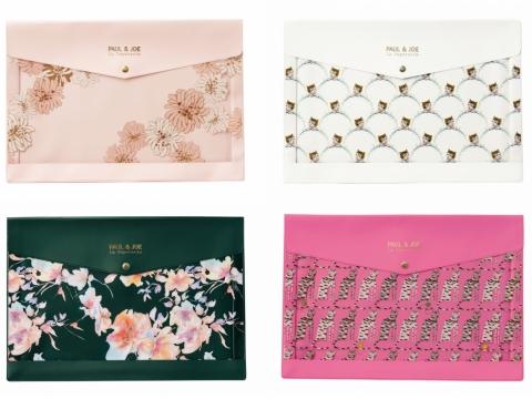 印花圖案文件袋 HK$160(A5 size)、$240(A4 size)