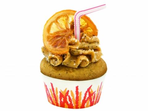 凍檸檬茶味cupcake