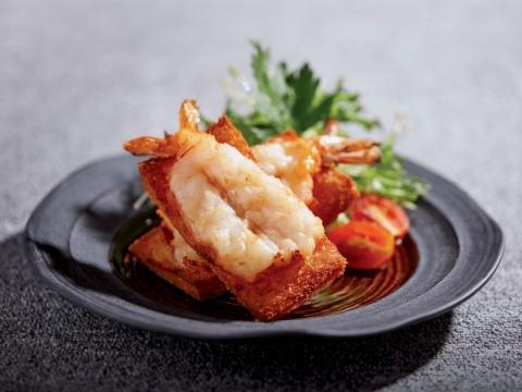 明蝦多士  HK$48
