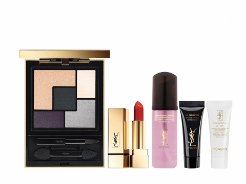 YSL Mon Paris Palette + Lip Set