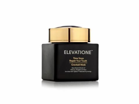 Elevatione Repair Gravitali Mask含維他命 B5、牛油果油及高嶺土,有效抗氧化及溫和清除角質和清潔毛孔。HK$3,180