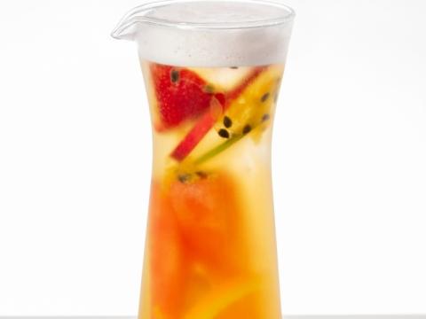 鮮果茶園 (可選英式紅茶、洛神花茶、薄荷香檸綠茶或白茶)HK$58
