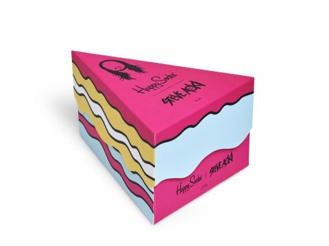 Steve Aoki 3 pack蛋糕box set HK$330
