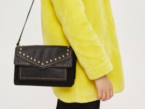 Jaxon Leather Shoulder Bag HK$477 (TOPSHOP)