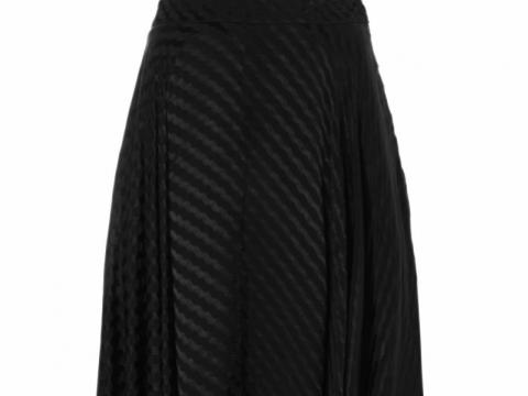Asymmetric Self Jacquard Midi Skirt HK$465 (TOPSHOP)