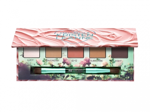 DAYDREAM Eyeshadow Palette組合內有Kristen Leanne專屬的全新5款啞緻眼影。HK$250