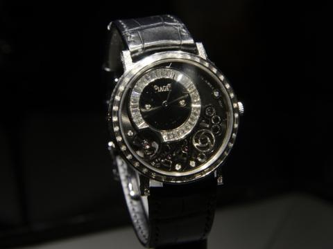 Cartier Altiplano 900P 38mm 鑲鑽腕錶