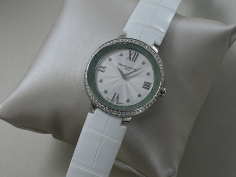 Baume & Mercier 翡翠腕錶