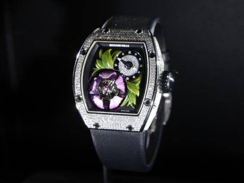 Richard Mille RM19-02 Tourvillon fleur 腕錶