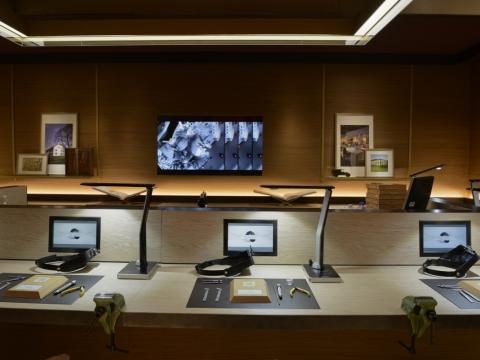 Cartier 的DIY工作室讓你也可一嘗當錶匠的樂趣