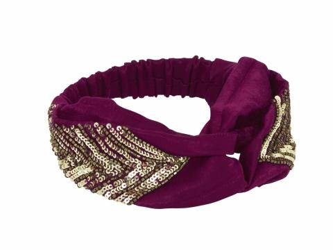 Accessorize Sequin Knot Front Bando $210