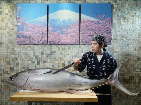 add@Prince 黃鯺吞拿魚刺身