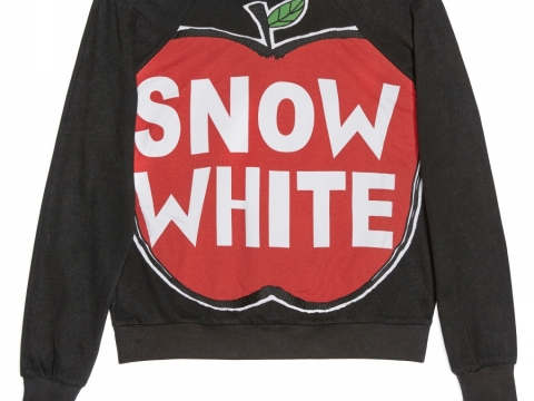 SNOW WHITE SWEATSHIRT HK$2,350