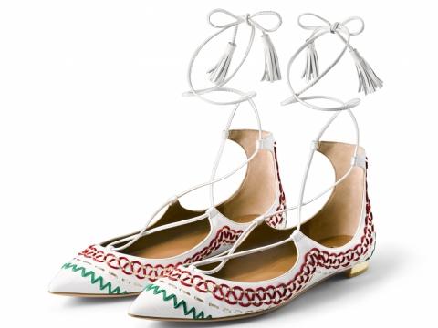 AQUAZZURA Christy平底鞋 $5,800